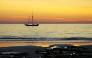 【西澳大利亚州图片】布儒姆的夕阳