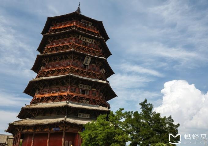 梁思成当年研究中国建筑发现应县木塔时,对林徽因没有亲临观瞻木塔而