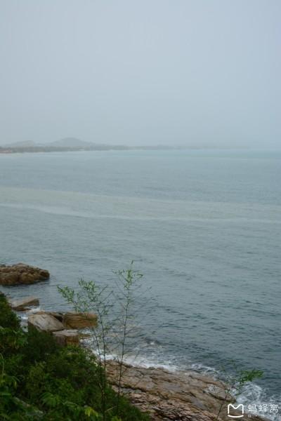 所以,可以随时刹车~  刹车第一站:岛上的某个观景台(我相信天气好的