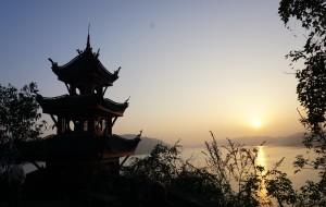 【宜昌图片】船行三峡:序曲--丰都名山探鬼蜮,石宝高阁凌江风