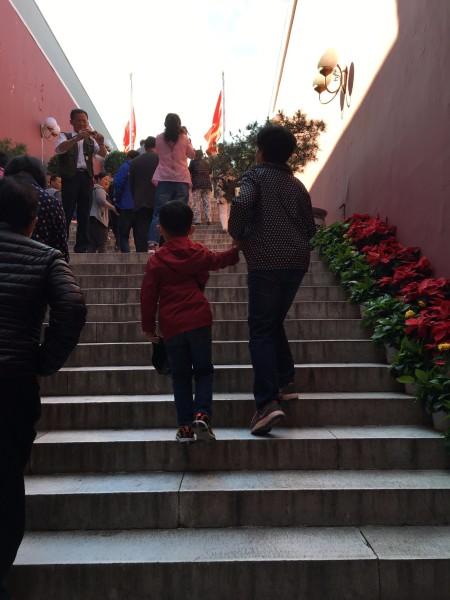 带着父母和孩子游北京