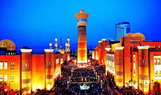 新疆国际大巴扎 新疆自治区博物馆 新疆古生态园 千回