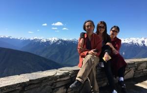 【西雅图图片】十五天走过雨林雪山海水荒漠——和爸妈的美国西海岸自驾之旅