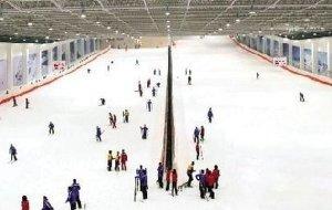 武汉娱乐-江夏室内滑雪场