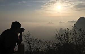 【保定图片】【王小小的旅途 】  ——   云雾险峰白石山    空灵悠远暖泉镇
