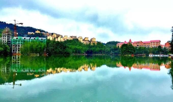 养生避暑度假房,贵州赤水天岛湖 天岛湖项目位于贵州省赤水市厥基坝水