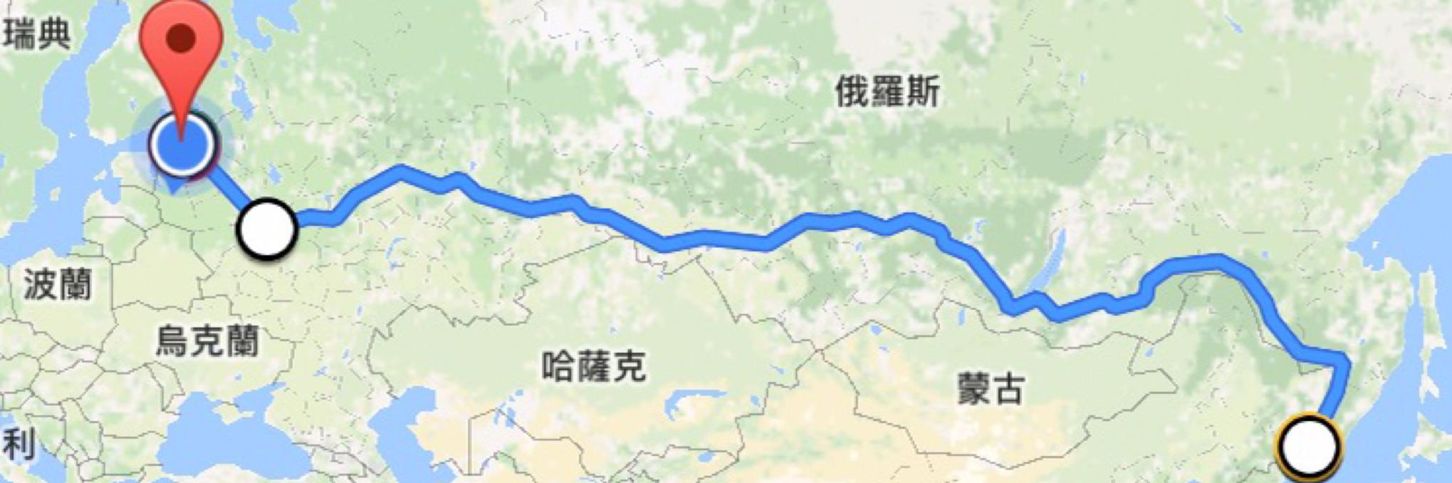 横穿俄罗斯——和自己约好的西伯利亚大铁路图片