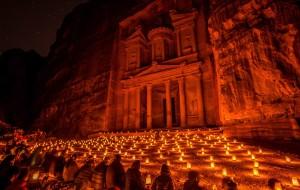 【约旦图片】约旦佩特拉:隐于山谷内的玫瑰古城