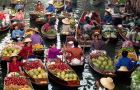 曼谷纯玩 丹嫩沙多水上市场+美功市场一日游(可选坐火车vip精品小团+保姆车酒店接送+可睡醒出发+骑大象/电动船可选)