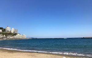 【热海市图片】熱海(あたみ)-有些地方,还是该相爱的两人一起来。