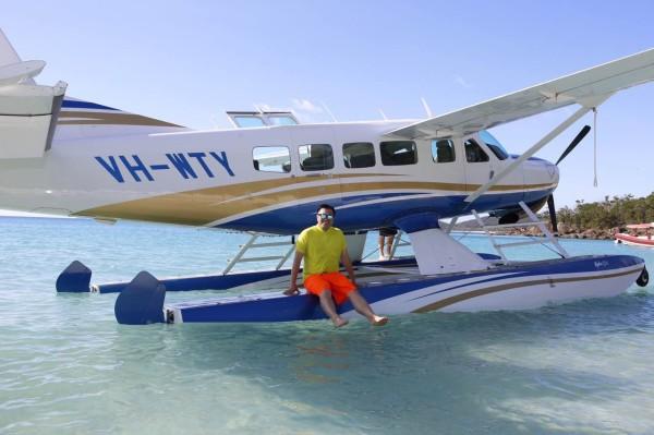 【世界那么大】大洋路房车自驾~大堡礁水上飞机
