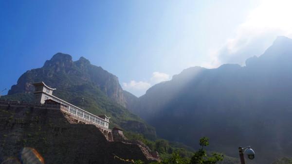 但是云台山风景区内的茱萸峰上遍植茱萸
