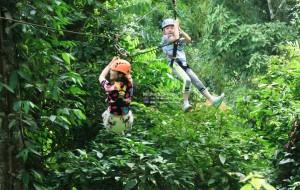 清迈娱乐-长臂猿丛林飞跃