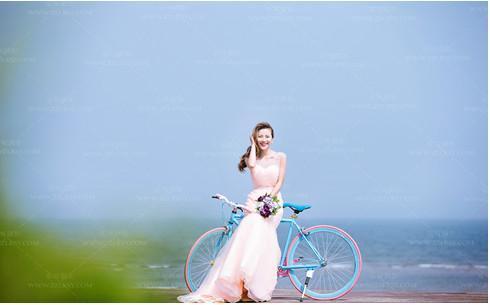 口碑较好的摄影工作室进行婚纱照拍摄, 【秋禾】以韩式新元素著称