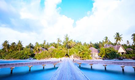 广州往返马尔代夫奥特瑞格岛7天自由行(送30分钟spa 奢华六星岛屿 早