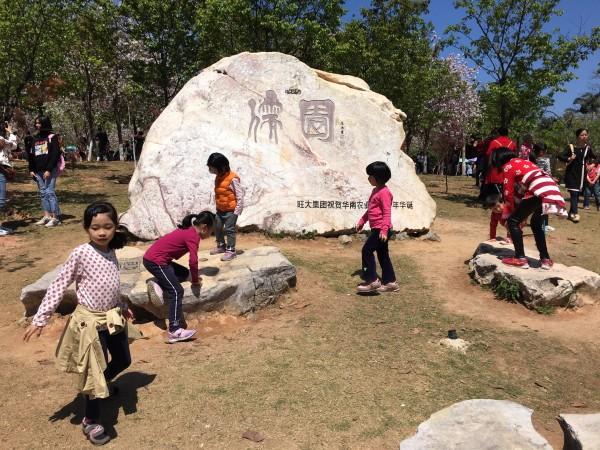 樱园(动物科学学院附近)是目前华农校园里最大的赏樱场所