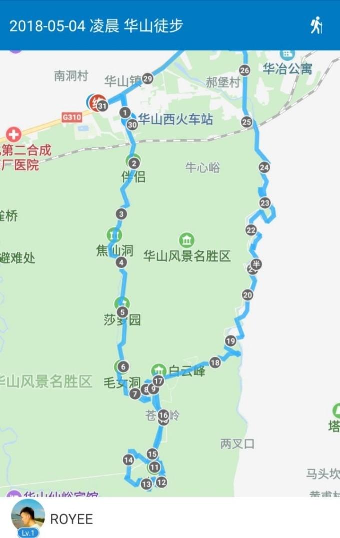 2018504华山游(包括仙峪,西岳庙)图片