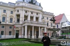 东欧六国之旅...斯洛伐克国家歌剧院周边风景随拍