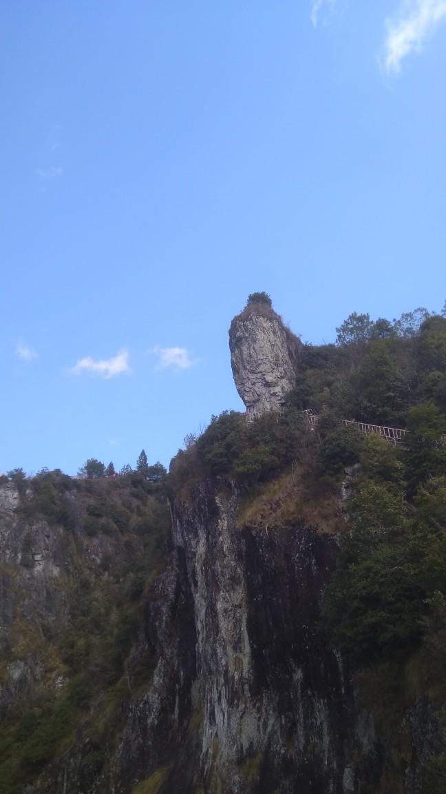 凌空栈道 洞宫山景区