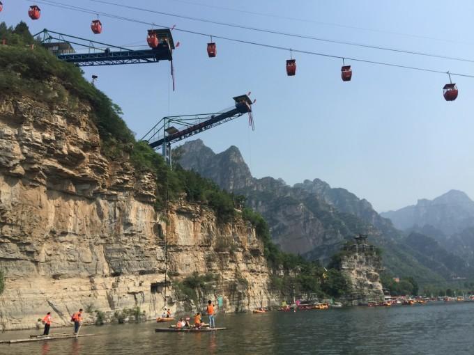 北京十渡夏季一日游~乐谷银滩,拒马河乐园