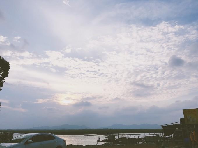 自驾到珠海西沙湾,碧海蓝天的周末游