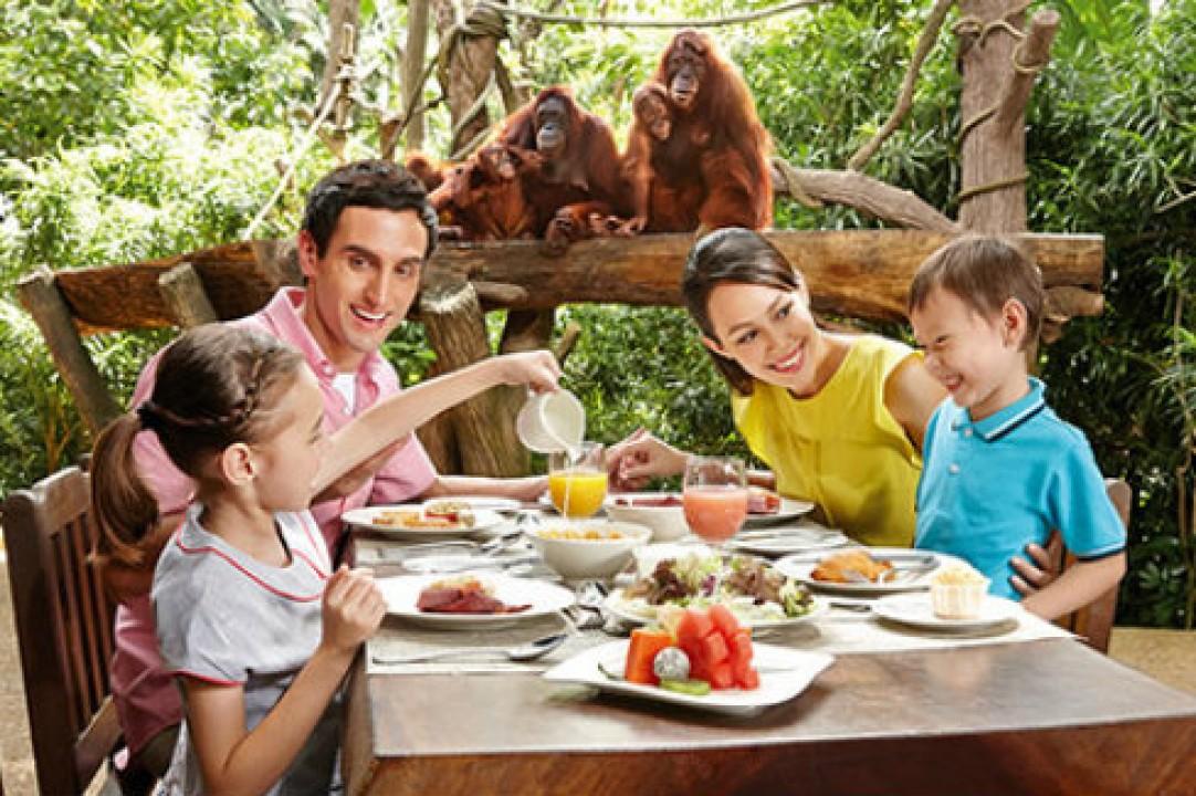 新加坡动物园丛林国际自助早餐