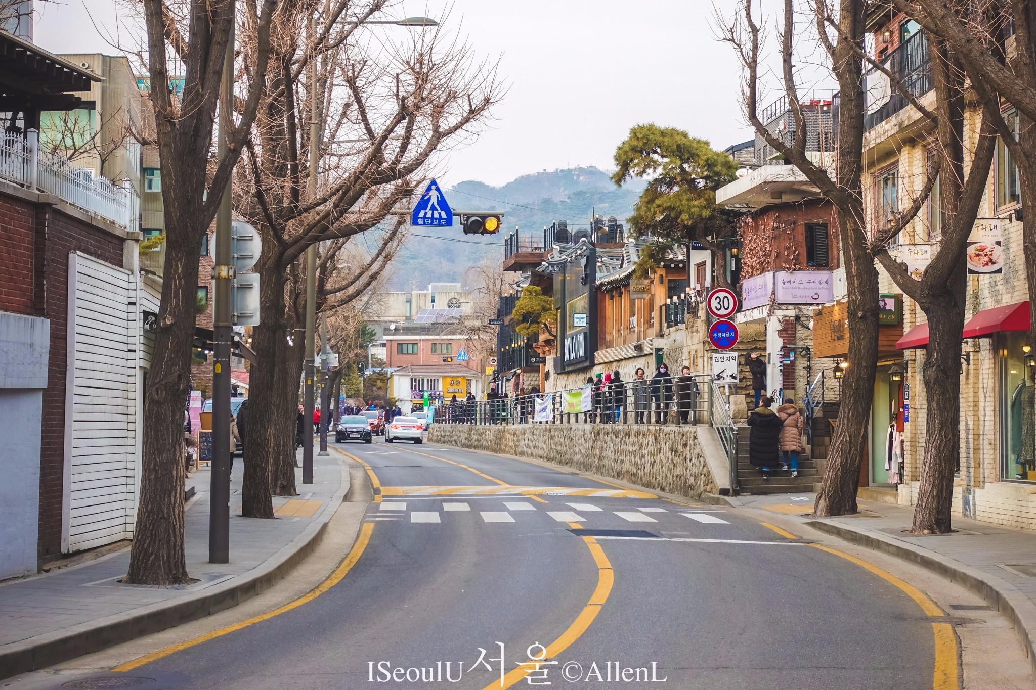 【首爾景點圖片】三清洞路