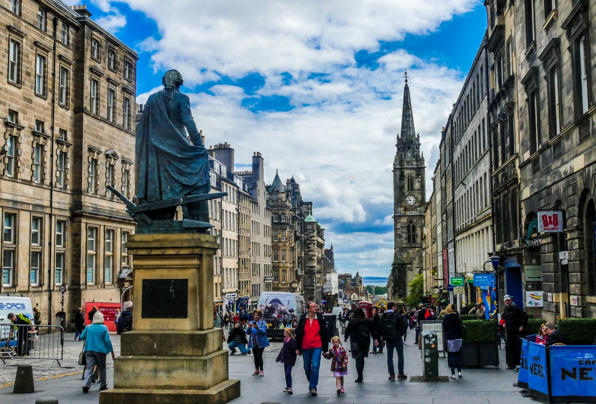 英国·爱丁堡,苏格兰王国的荣耀_游记