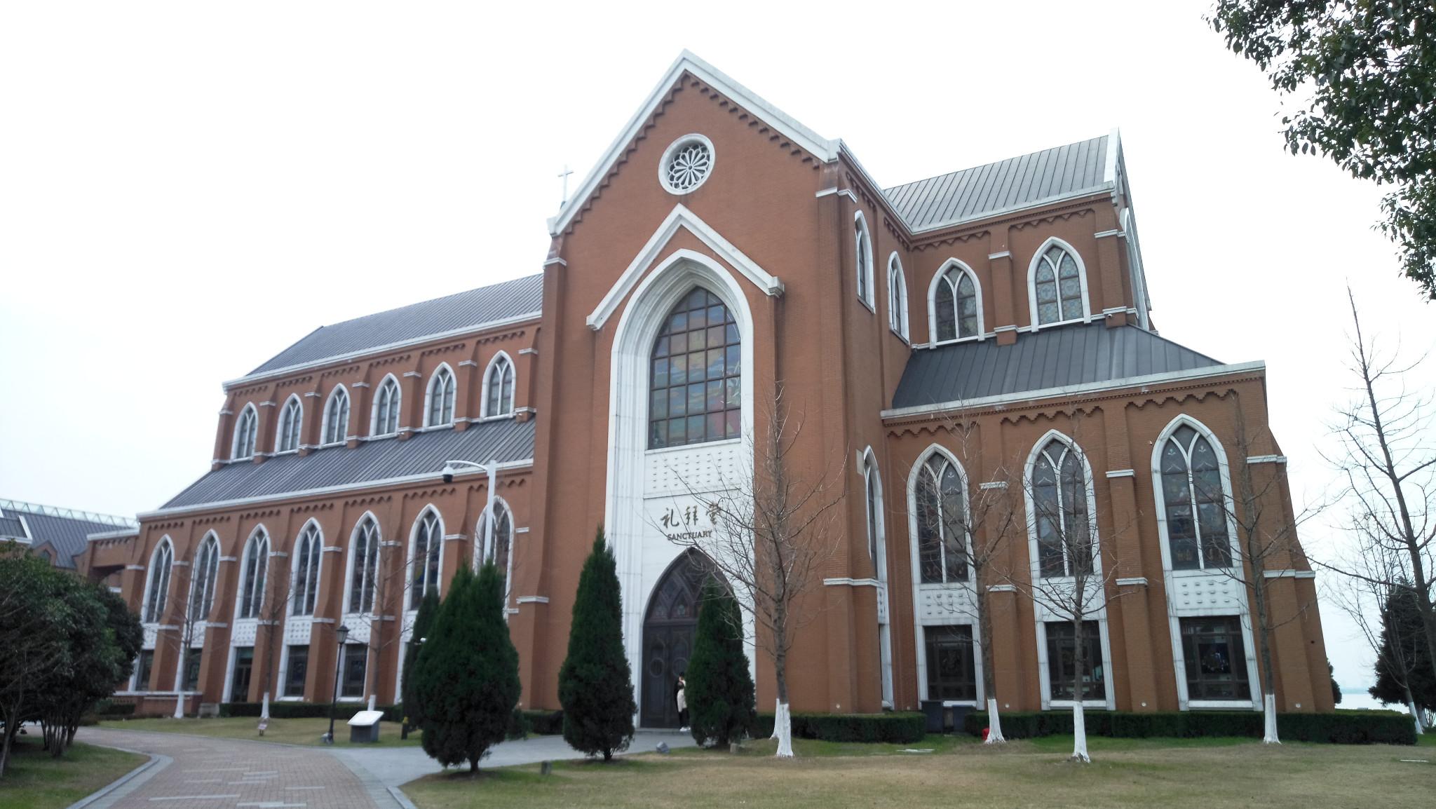 苏州独墅湖基督教堂--重游拍婚纱照的外景地