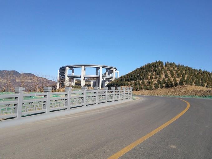 太原天龙山路网红桥