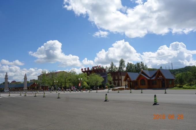 敦化 六鼎山风景区,2018年6月28日 ,敦化旅游攻略 马蜂窝