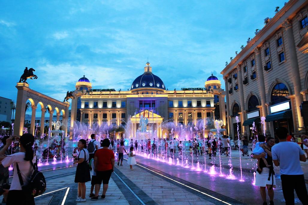惠州狮子城/惠州欧美城文化小镇海洋世界门票(欧式皇家城堡/皇家园林建筑风格)