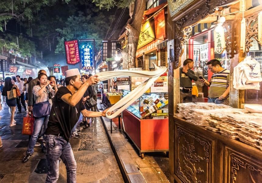 台湾美食街图片图片