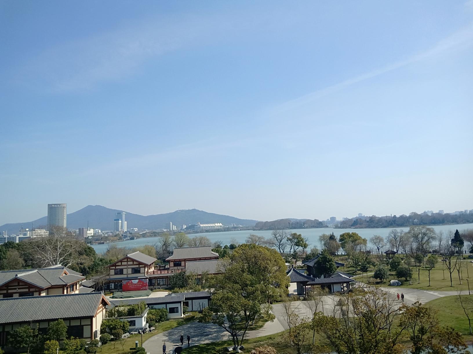 玄武湖,我的阳光之旅