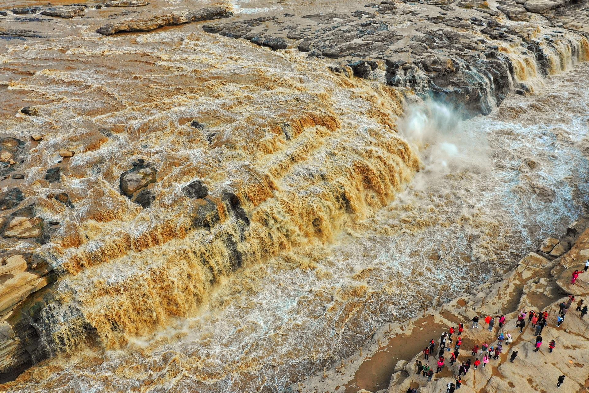 陕西新乡.壶口瀑布航拍,壶口瀑布旅游攻略-宜川南马河旅游攻略图片