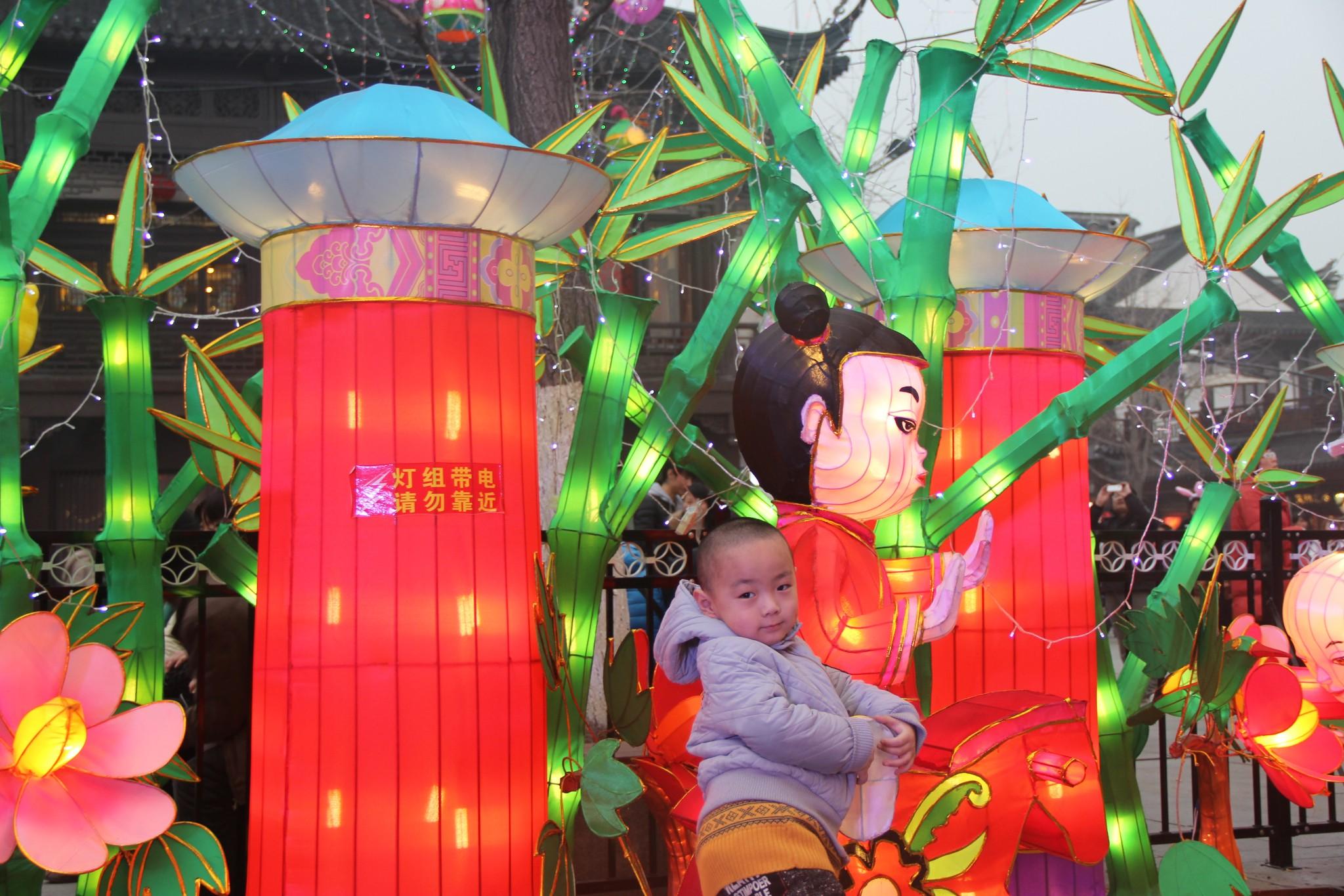 2014春节巡游古都南京