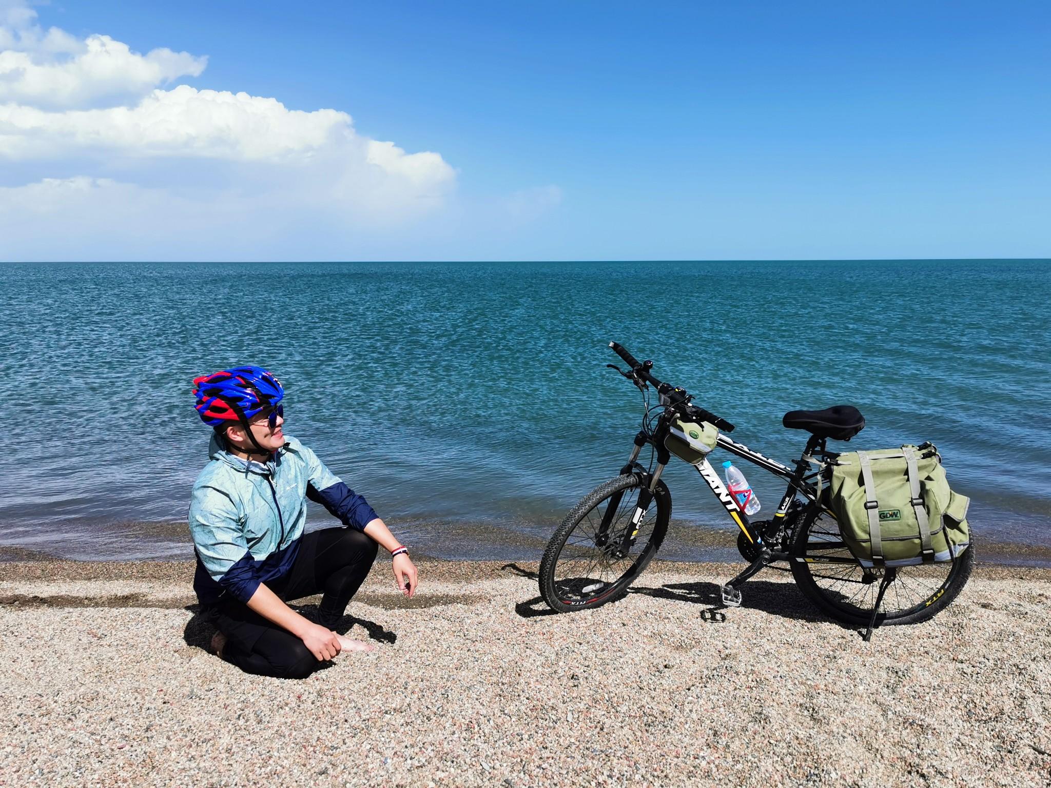 ·【2020环骑青海湖】2个轱辘 360公里 丈量自我与山河!_游记