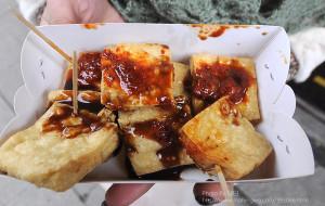 周庄美食-沈阿婆臭豆腐