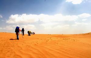 【库布齐沙漠图片】(详细攻略)徒步穿越库布齐沙漠。。。