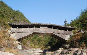 【泰顺图片】廊桥全景 - 六天景泰寿庆廊桥古镇自驾