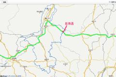西北三省十三日游------费用及线路图