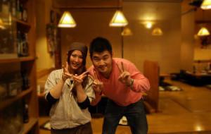 【山梨县图片】日本の旅行——很萌的pizza店和居酒屋的少女服务员