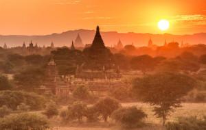【缅甸图片】缅为其乐,我在蒲甘看佛塔