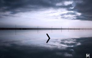 【乌兰图片】中国的天空之镜 青海的茶卡盐湖