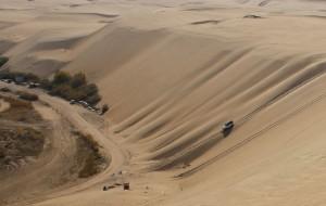 【库布齐沙漠图片】鄂尔多斯的响沙湾