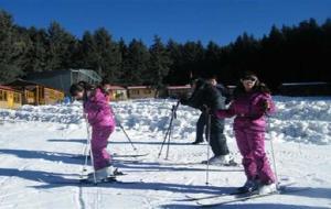 西宁娱乐-鹞子沟康乐山庄滑雪场