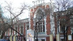 莫斯科景点-巴赫鲁欣戏剧博物馆