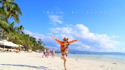 长滩岛景点-白沙滩(White Beach)