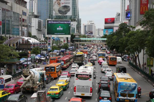 手绘 泰国tutu车