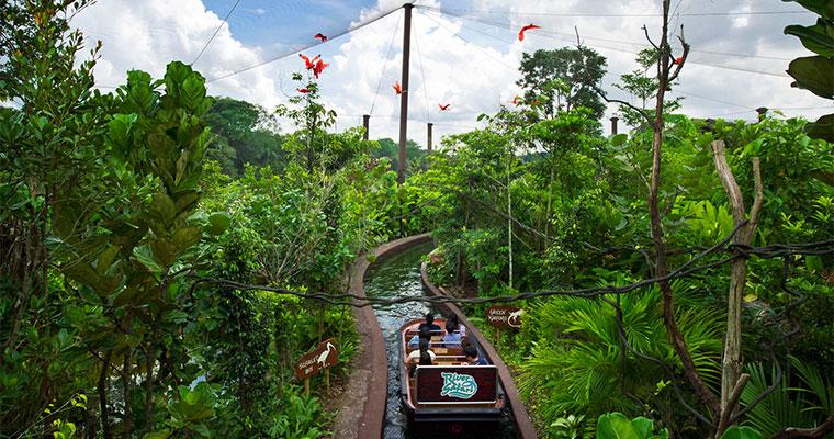 坐落于新加坡动物园以及夜间野生动物园之间,是亚洲唯一一个以河川为